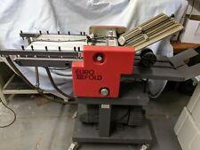 More details for multigraf euro fold 235 suction paper folder