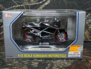 Redbox #68001 Kawasaki Ninja 1:12 Scale Motorcycle Collection Die-Cast Metal DK