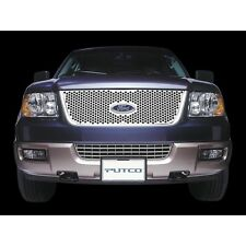 Putco 05-09 Ford Mustang Main Grille Punch Stainless Steel Grilles 84341