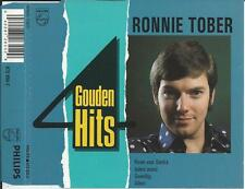 RONNIE TOBER - 4 Gouden Hits (Rozen voor Sandra) CD SINGLE 4TR HOLLAND 1989