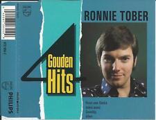 RONNIE TOBER - 4 Gouden Hits (Rozen voor Sandra) CD SINGLE 4TR HOLLAND 1989