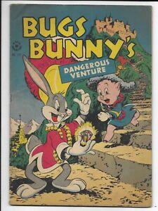 Dell Four Color Comics #123 Bugs Bunny 1946 Golden Age Comic Book Fine