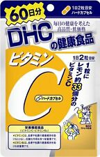 New DHC vitamin C Hard Capsules 60 days 120 capsules supplements Japan