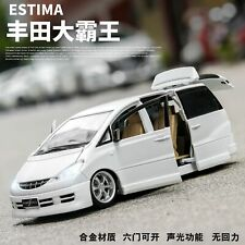 1:32 Toyota Estima Alloy Car Model Diecasts Toy Educational Toys for Children