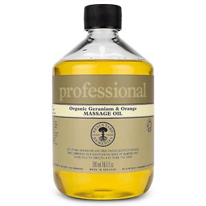 Neal's Yard Remedies Professional Organic Geranium and Orange Massage Oil 500ml