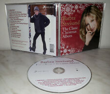 CD BARBRA STREISAND - THE CLASSIC CHRISTMAS ALBUM
