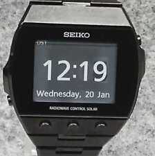 SEIKO Quartz digital solar radio BRIGHTZ SDGA003 #754B GOOD wristwatch