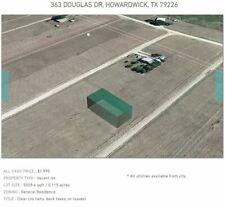 5000 SQFT TEXAS LAND - .11 ACRES - NO RESERVE! BUILD YOUR DREAM HOME
