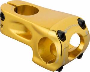 Promax Banger 53mm Front Load Stem +/- 0 degree for 31.8mm Bars Gold