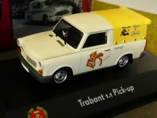 1/43 Atlas DDR Auto Kollektion Trabant 1.1 Pick-Up Pieter & Burle 7230 038
