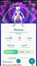 Pokemon go Legendary Mewtwo LEGACY move Psystrike 3000+CP OR ShadowBall