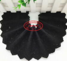 1 yard, embroidered flower lace trims ribbon Cotton fabric for sewing Craft FL77