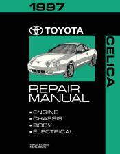 1997 Toyota Celica Shop Service Repair Manual Book Engine Drivetrain OEM