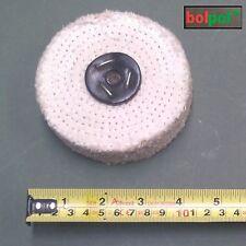 Sisal rueda que pulimenta 100mm X 2 sección-grueso fregona de pulido para Metal S100/2