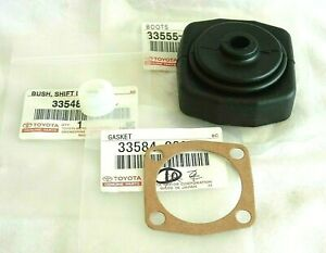 Genuine Toyota Celica 4Runner Pickup Supra Transmission Shifter Bushing & Boot