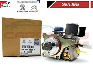 GENUINE HIGH PRESSURE FUEL PUMP FOR PEUGEOT AND CITROEN 1.6 9819938480 BRAND NEW