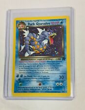 2000 Pokémon team rocket Dark Gyarados Holofoil 8/82 Mint!
