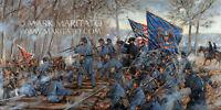 Mark Maritato Signed Civil War Limited Edition Art Print The Slaughter Pen Farm