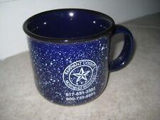 TARRANT COUNTY TEXAS Funeral Home Funerary Mortician Coffee Tea Cup Mug USED