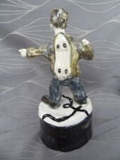 Skateboard Rider Sculpture Signed by Artist