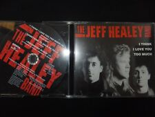 CD SINGLE THE JEFF HEALEY BAND / I THINK I LOVE YOU TOO MUCH / RARE /