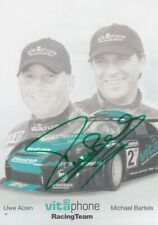Michael Bartels Hand Signed Promo Card - Vitaphone Racing Autograph.