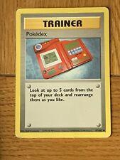 Pokemon Trading Cards Base Set Trainer Pokedex
