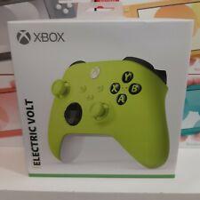 Controller Wireless Xbox Electric Volt Per Xbox One E Series X-s Nuovo Sigillato