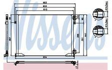 NISSENS Condensador, aire acondicionado OPEL RENAULT TRAFIC NISSAN 94671