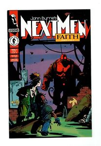 John Byrne's Next Men (Dark Horse 1992) #21 (1993) 1st Print Full Hellboy Color