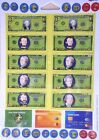 Educational Magnets MONEY home school learning;coins,bills,credit card resources