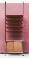 Libreria soffitto/pavimento a pressione design svedese scandinavo Vintage'50-1OB