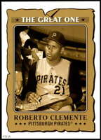 Roberto Clemente 2021 Topps Heritage 5x7 The Great One Gold #GO-16 /10 Pirates