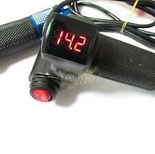 EBike Electric Scooter Throttle Grip 24 36 48 60v Handlebar LED Digital Meter