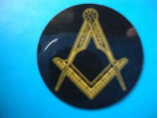 "12   MASONIC BOWLS  STICKERS  1""    CROWN GREEN  LAWN BOWLS FREEMASONS STICKERS"