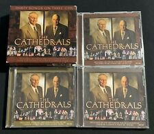 """THE CATHEDRALS.....""""THIRTY SONGS ON THREE CD'S"""".....3 GOSPEL CD'S WITH SLIP CASE"""