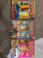 Match magazines 1994 X 3.