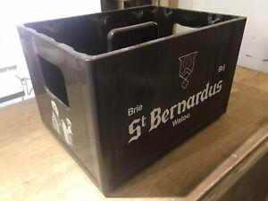 St Barnardus Empty Belgian Beer Crate