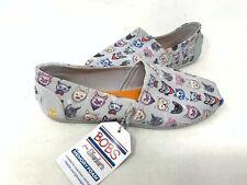 NEW! Skechers Women's BOBS PLUSH POSH CAT Slip On Flats Gray #32577 180O z