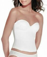Valmont Longline Seamless Strapless Bra with Molded Cups Style 7642 New