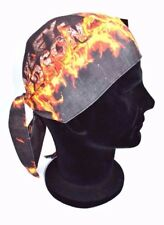 Genuine Harley Davidson Men's  Flame Combustion Head Wrap Hat HW20964