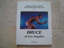 BRUCE OF LOS ANGELES American photography male nude 1940-1970  BOOK gay interest
