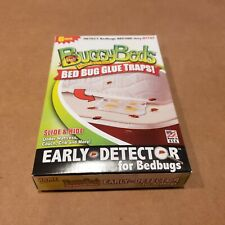 Buggy Beds 6 Pack Bed Bug Glue Traps - Early Detector for Bed Bugs - Brand New!