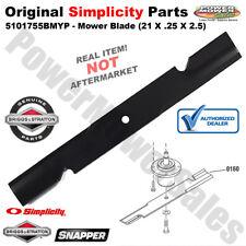 "Simplicity Mower Blade (21 x .25 x 2.5) 61"" Deck Mowers & Tractors 5101755BMYP"