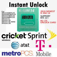 New R-SIM 14 RSIM Nano Unlock Card for iPhone XS MAX/XR/XS/8/7/6 4G iOS 12 Lot