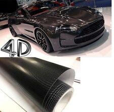 30 X 152CM Carbon Auto Motorrad Folie Schwarz    PREMIUM 2D 4D 5D  3D Autofolie