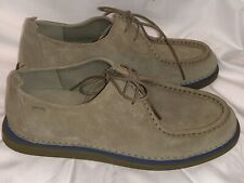 Camper Nixie Chukka Womens Brown Suede Lace Up Flats Oxfords Shoes 39 US 9