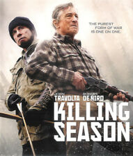 Killing Season ~ Robert De Niro John Travolta ~ Blu-ray Disc ~ FREE Shipping USA