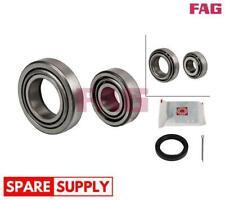 Kit Rodamiento De Rueda Para Ford FAG 713 6783 00