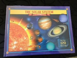 THE SOLAR SYSTEM - A LIFT-THE-FLAP BOOK - OOP - NEW & SEALED - *FREE STD POST*